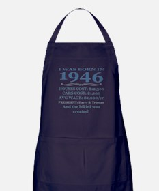 Birthday Facts-1946 Apron (dark)
