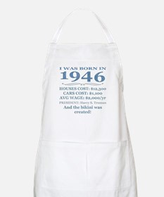 Birthday Facts-1946 Apron