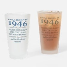 Birthday Facts-1946 Drinking Glass