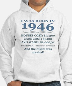 Birthday Facts-1946 Hoodie