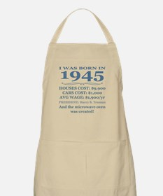 Birthday Facts-1945 Apron