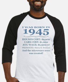 Birthday Facts-1945 Baseball Jersey