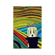 SCREAM Rectangle Magnet