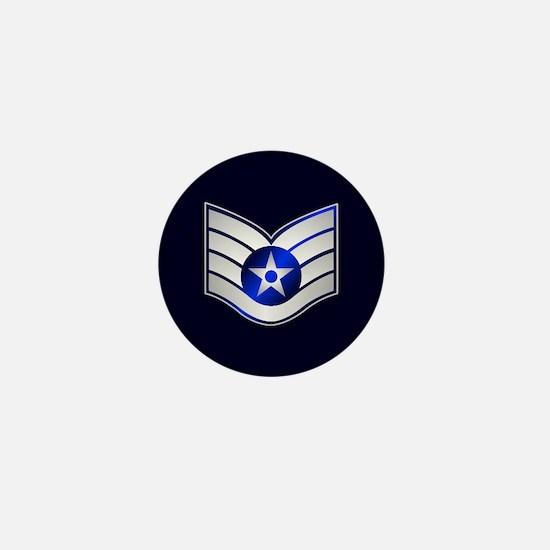 Air Force Staff Sergeant Mini Button
