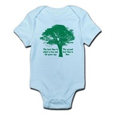 Plant a Tree Now Body Suit