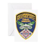 Passamaquoddy Ranger Greeting Cards (Pk of 10)