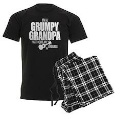 Grumpy Grandpa Uke Pajamas