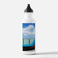 Water villa balcony in Sports Water Bottle