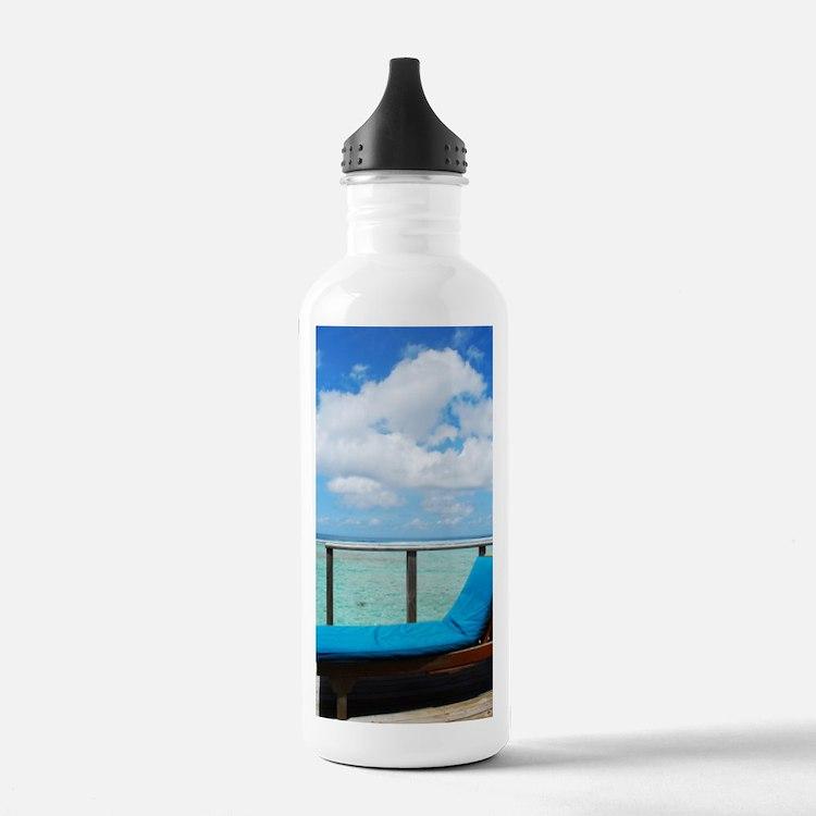 Water villa balcony in Water Bottle