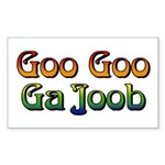 Goo Goo Ga Joob Rectangle Sticker