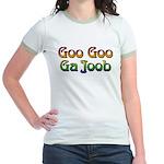 Goo Goo Ga Joob Jr. Ringer T-Shirt