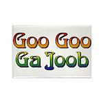 Goo Goo Ga Joob Rectangle Magnet