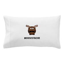 Moosestache Pillow Case
