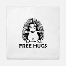 Free hugs Queen Duvet