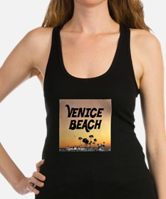 Venice Beach Boardwalk Sunset Racerback Tank Top