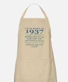 Birthday Facts-1937 Apron