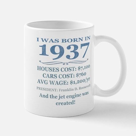 Birthday Facts-1937 Mugs