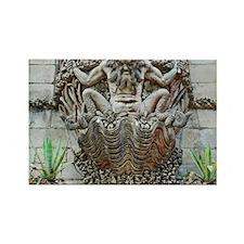 Gargoyle at Pena Palace Rectangle Magnet