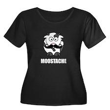 Moostache Cow Plus Size T-Shirt