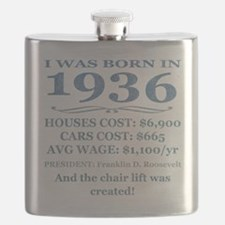 Birthday Facts-1936 Flask