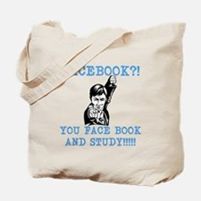 Asian Parents: FACEBOOK Tote Bag