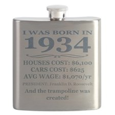 Birthday Facts-1934 Flask