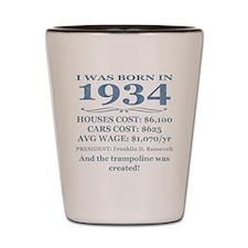 Birthday Facts-1934 Shot Glass