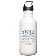 Birthday Facts-1934 Water Bottle