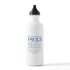 Birthday Facts-1933 Water Bottle