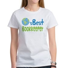 Earths Best Bookkeeper Tee