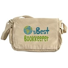 Earths Best Bookkeeper Messenger Bag