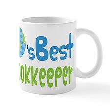 Earths Best Bookkeeper Mug