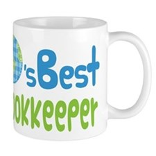Earths Best Bookkeeper Mug