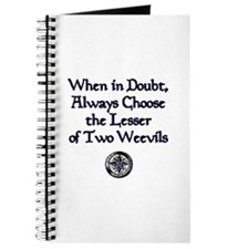 The Lesser of Two Weevils Journal