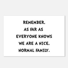 Normal Family Postcards (Package of 8)