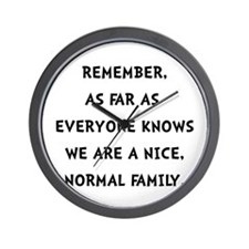 Normal Family Wall Clock