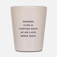 Normal Family Shot Glass