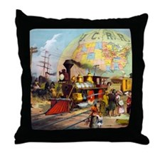ICRR Throw Pillow