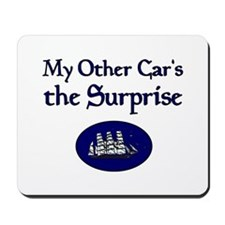 My Other Car's the Surprise Mousepad