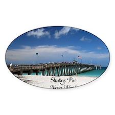 Sharkeys Pier Decal
