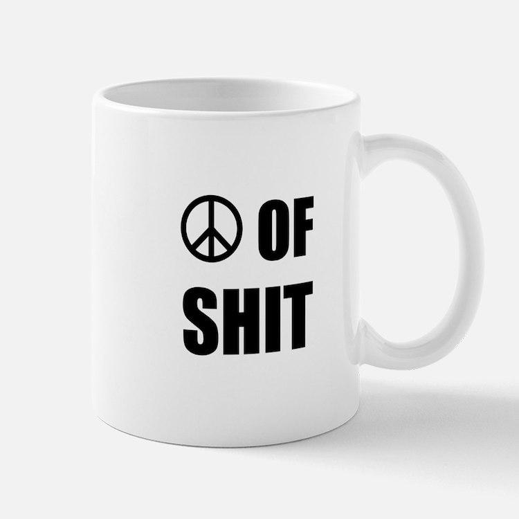 Peace Shit Mugs