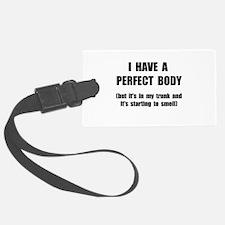 Perfect Body Luggage Tag