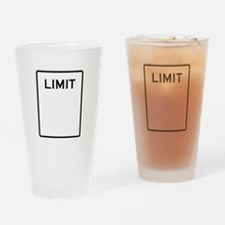No Limit Image Drinking Glass