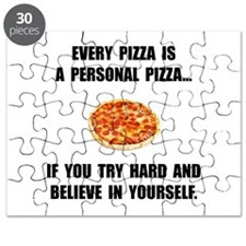 Personal Pizza Puzzle