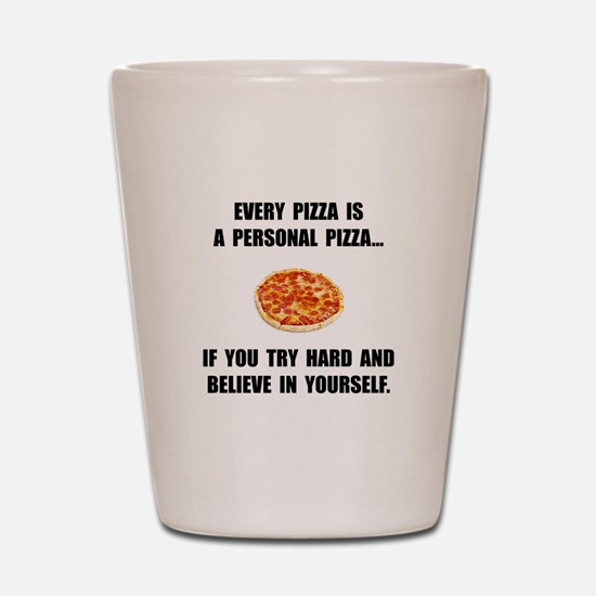 Personal Pizza Shot Glass