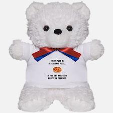 Personal Pizza Teddy Bear