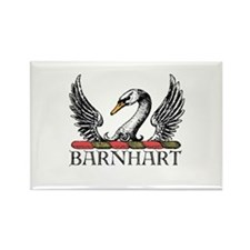Unique Barnhartgallery Rectangle Magnet (10 pack)