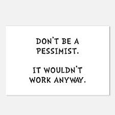 Pessimist Postcards (Package of 8)