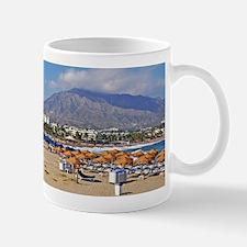 Puerto Banus beach Mug
