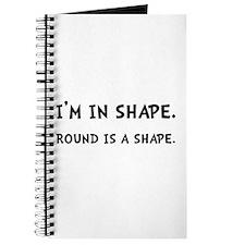 Round Shape Journal
